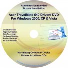 Acer TravelMate 540 Drivers Restore Recovery CD/DVD