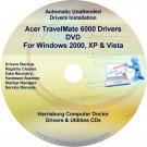 Acer TravelMate 6000  Drivers Restore Recovery CD/DVD