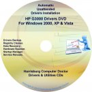 HP G3000 Driver Recovery Restore Software Disc CD/DVD