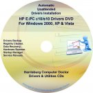 HP E-PC c10/s10 Driver Recovery Restore Disc CD/DVD