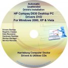 HP Compaq D530 Desktop PC Driver Recovery Disc CD/DVD