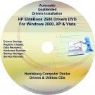 HP EliteBook 2500 Driver Recovery Restore Disc CD/DVD