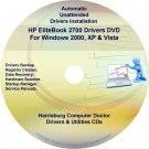 HP EliteBook 2700 Driver Recovery Restore Disc CD/DVD