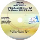 HP EliteBook 9600 Driver Recovery Restore Disc CD/DVD