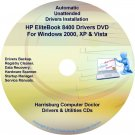 HP EliteBook 8400 Driver Recovery Restore Disc CD/DVD