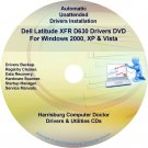 DELL Latitude XFR D630 Driver Recovery Disc CD/DVD