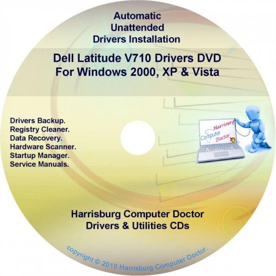DELL Latitude V710 Driver Recovery Restore Disc CD/DVD