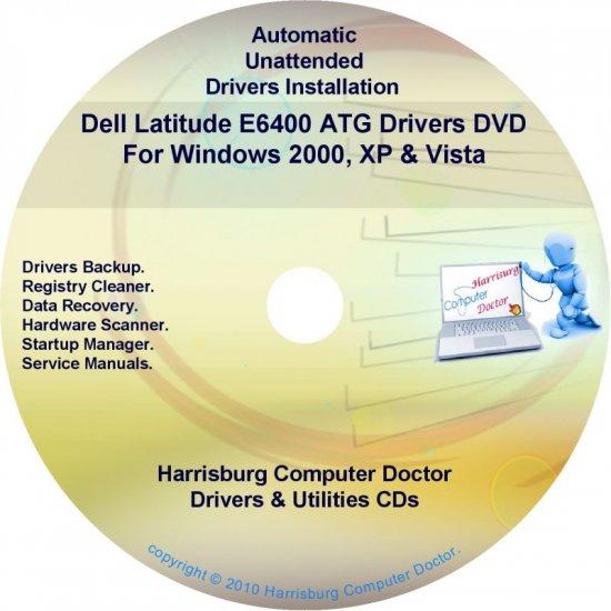 DELL Latitude E6400 ATG Driver Recovery Disc CD/DVD