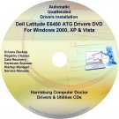 DELL Latitude E6400 ATG Driver Recovery Disc CD/DVD