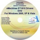 eMachines ET1810 Drivers Restore Recovery CD/DVD
