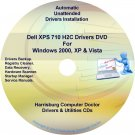 Dell XPS 710 H2C Drivers Recovery Disc Disk CD/DVD