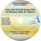 Sony Vaio PCG-GR Drivers Restore Recovery CD/DVD