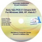 Sony Vaio PCG-C1 Drivers Restore Recovery CD/DVD