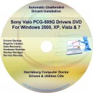 Sony Vaio PCG-505G Drivers Restore Recovery CD/DVD