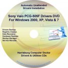 Sony Vaio PCG-505F Drivers Restore Recovery CD/DVD