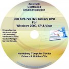 Dell XPS 720 H2C Drivers Recovery Disc Disk CD/DVD