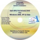 Dell XPS 710 Drivers Recovery Restore Disc Disk CD/DVD
