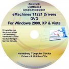 eMachines T1221 Drivers Restore Recovery CD/DVD