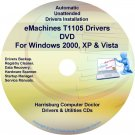 eMachines T1105 Drivers Restore Recovery CD/DVD