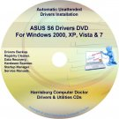 Asus S6 Drivers Restore Recovery CD/DVD