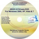 Asus U3 Drivers Restore Recovery CD/DVD