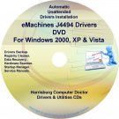 eMachines J4494 Drivers Restore Recovery CD/DVD