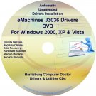 eMachines J3036 Drivers Restore Recovery CD/DVD