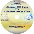 eMachines H3958 Drivers Restore Recovery CD/DVD