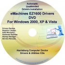 eMachines EZ1600 Drivers Restore Recovery CD/DVD