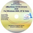 eMachines H3104 Drivers Restore Recovery CD/DVD