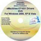 eMachines ET1831 Drivers Restore Recovery CD/DVD