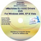 eMachines EL1333G Drivers Restore Recovery CD/DVD