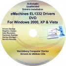 eMachines EL1332 Drivers Restore Recovery CD/DVD
