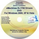 eMachines EL1700 Drivers Restore Recovery CD/DVD