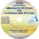 eMachines EL1321 Drivers Restore Recovery CD/DVD