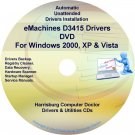 eMachines D3415 Drivers Restore Recovery CD/DVD