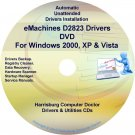 eMachines D2823 Drivers Restore Recovery CD/DVD