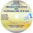 eMachines D2386 Drivers Restore Recovery CD/DVD