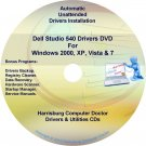 Dell Studio 540 Drivers Recovery Restore Disc CD/DVD