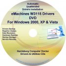 eMachines W3115 Drivers Restore Recovery CD/DVD