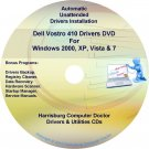 Dell Vostro 410 Drivers Recovery Restore Disc CD/DVD