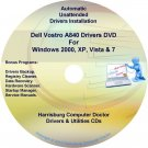 Dell Vostro A840 Drivers Recovery Restore Disc CD/DVD