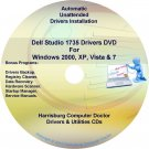 Dell Studio 1535 Drivers Recovery Restore Disc CD/DVD