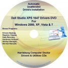 Dell Studio XPS 1647 Drivers Recovery Disc Disk CD/DVD
