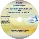 Dell Studio XPS 8000 Drivers Recovery Disc Disk CD/DVD
