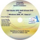 Dell Studio XPS 1645 Drivers Recovery Disc Disk CD/DVD