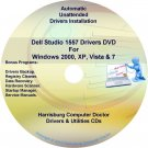 Dell Studio 1557 Drivers Recovery Restore Disc CD/DVD