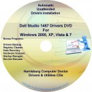 Dell Studio 1457 Drivers Recovery Restore Disc CD/DVD