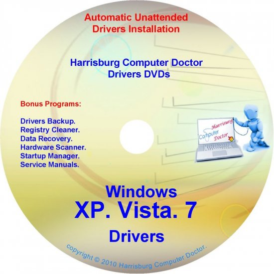 Gateway MX3412 Drivers Recovery Restore Disc DVD