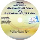 eMachines W3052 Drivers Restore Recovery CD/DVD